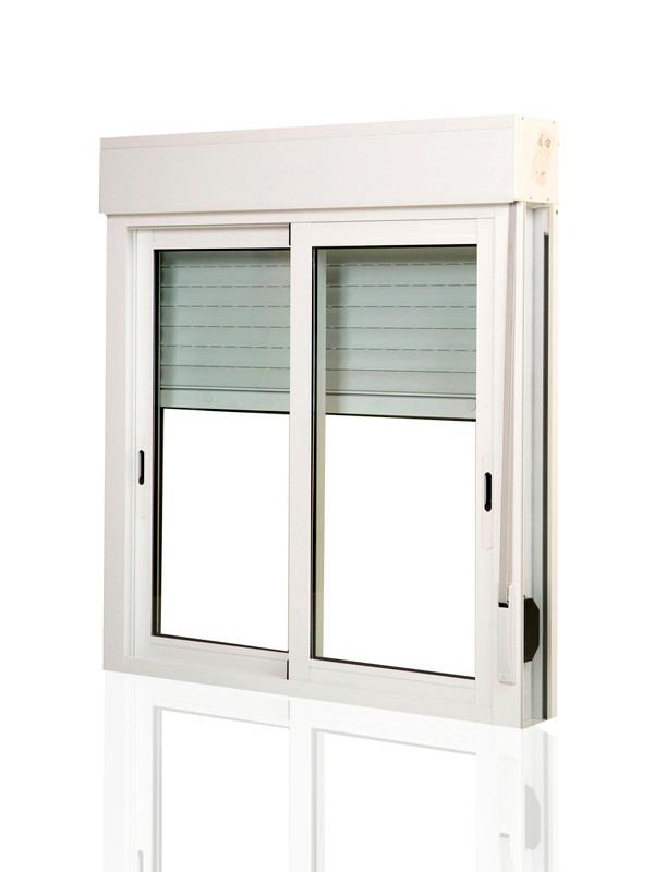 Aberturas uni n persianas de enrollar for Ventanas de aluminio con persiana baratas